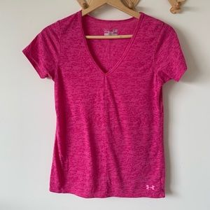 Under Armour Pink Workout Top
